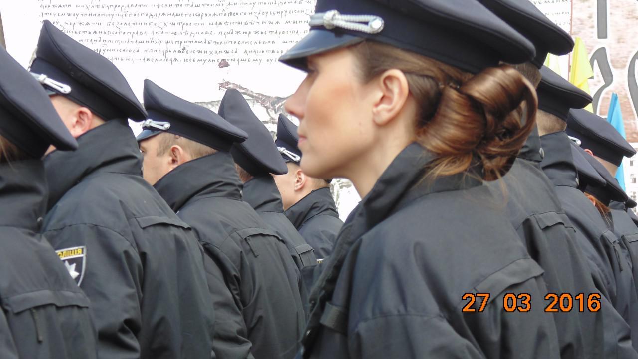 Поліцейські Чернівців жіночої статі